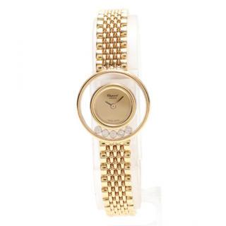 ショパール(Chopard)の【超美品】ショパール chopard 腕時計 ハッピーダイヤモンド 5Pダイヤ(腕時計)