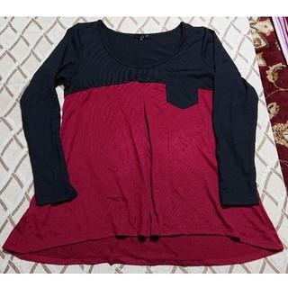 アベイル(Avail)のAvail ロンT チュニック Lサイズ(Tシャツ(長袖/七分))