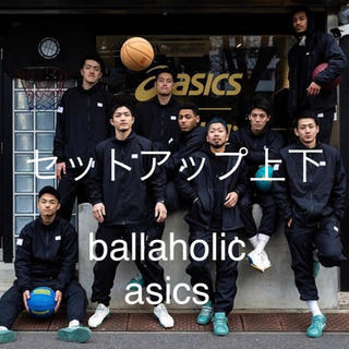 asics - ボーラホリック アシックス セットアップ上L 下M