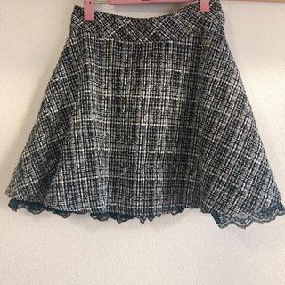 ロディスポット(LODISPOTTO)のロディスポット*ツイードスカート(ミニスカート)