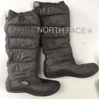THE NORTH FACE - NORTH FACE*ノースフェイス*地柄*ロング ブーツ※25cm