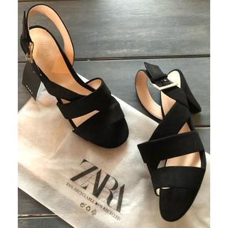 ZARA - ★24日までの出品★ZARA/新品 ¥3990 完売 デザインサンダル 37