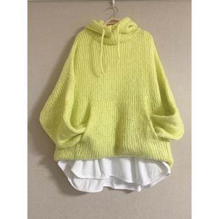 STYLENANDA - 韓国ファッション 重ね着シンプルカットソー BigTシャツ