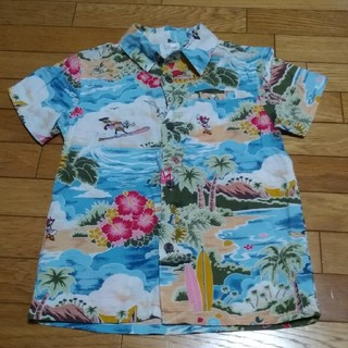 Disney - ハワイ限定デザイン ディズニーのアロハシャツ