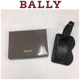 Bally - 良品☆BALLY/バリー☆ネーム/タグ☆箱あり☆ブラック系