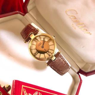 Cartier - Cartier  ♡ 腕時計 must de Cartier VERMEIL