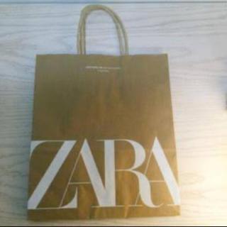 ザラ(ZARA)のZARA ショップ袋(ショップ袋)