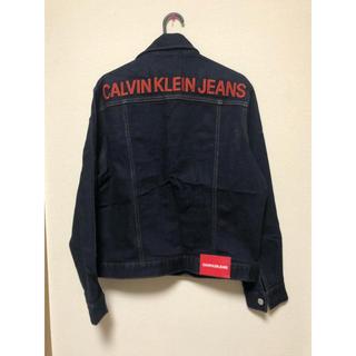 Calvin Klein - 新品 ロゴ入り カルバンクライン ジーンズ デニムジャケット
