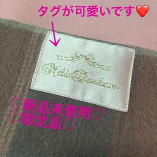 新品mille bonheurチェックマフラー数量限定レア☆ミルボヌール