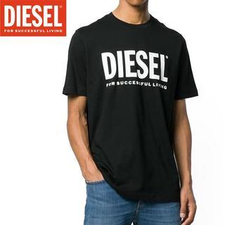 DIESEL - 53 DIESEL T-DIEGO-LOGO ブラック 半袖 Tシャツ L