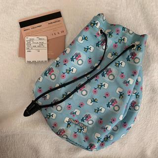 ミュウミュウ(miumiu)のmiumiu 巾着 ポーチ ミュウミュウ 正規店購入(ポーチ)