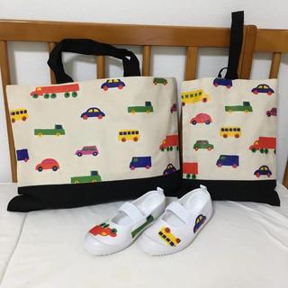 マリメッコ(marimekko)のマリメッコ 柄 上靴入れ レッスンバッグ 上履き(バッグ/レッスンバッグ)