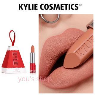 カイリーコスメティックス(Kylie Cosmetics)の♡新品♡正規品♡限定ホリデー◆マットリップ◆ピーチベージュヌード(口紅)