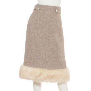 Lily Brown - ♡リリーブラウン フェイクファースカート♡