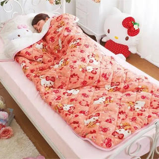 サンリオ(サンリオ)のハローキティ すっぽり寝袋毛布(毛布)