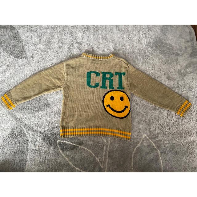 新品未使用‼︎ CRT NAVY ⭐️キッズ セーター キッズ/ベビー/マタニティのキッズ服男の子用(90cm~)(ニット)の商品写真