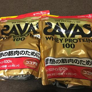 SAVAS - ザバスプロテイン2つ