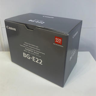 Canon - 【新品未使用】Canon BG-E22 ②