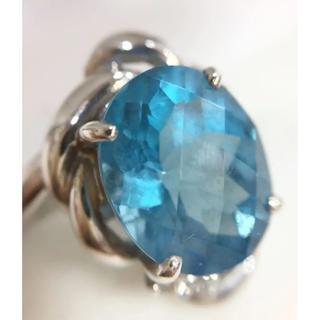 K14 ブルートパーズ リング 指輪 18611325(リング(指輪))