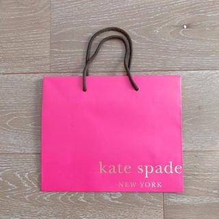 ケイトスペードニューヨーク(kate spade new york)の未使用 ケイトスペード ショッパー ショップ袋(ショップ袋)