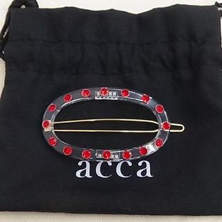 アッカ(acca)のacca ビジュー付きのヘアピンです  (ヘアピン)