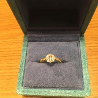 バーニーズニューヨーク(BARNEYS NEW YORK)のhum ダイヤモンド リング(リング(指輪))