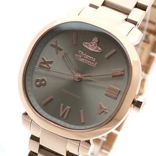 Vivienne Westwood - VIVIENNE WESTWOOD腕時計 レディース ブラウン ピンクゴールド