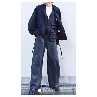 SUNSEA - SUNSEA 18aw Straight Pants サンシー ナイスマテリアル
