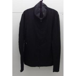 オーレット(OURET)の♯0557・OURET オーレット リネンジャケット ブラック Fサイズ 日本製(ブルゾン)