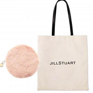 JILLSTUART - JILL STUART ロゴトートバッグ&ファーポーチ sweet 付録