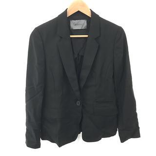 BOSCH - BOSCH レディース テーラード ジャケット レーヨン 黒 サイズ 38 黒