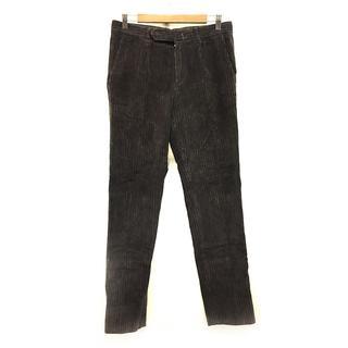 ボレリ メンズ パンツ コーデュロイ コットン 茶色 ブラウン サイズ 30 M