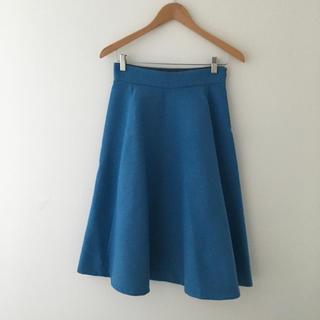 TOMORROWLAND - マカフィー スカート ブルー 青 36