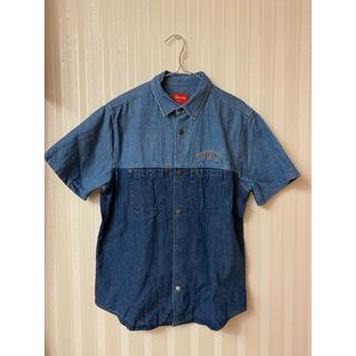 Supreme - supreme 2-Tone Denim S/S shirt