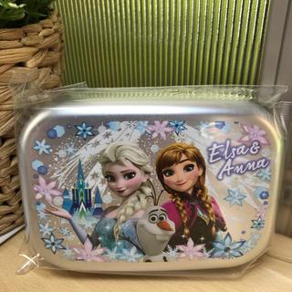 アナトユキノジョオウ(アナと雪の女王)のスケーター 弁当箱 アルミ製 アナと雪の女王 ディズニー 370ml(弁当用品)