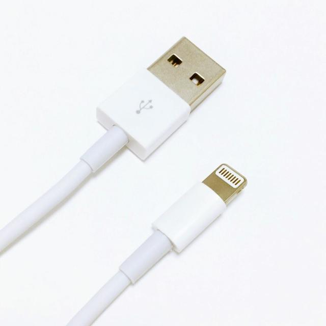 Apple(アップル)のライトニングケーブル スマホ/家電/カメラのPC/タブレット(PC周辺機器)の商品写真