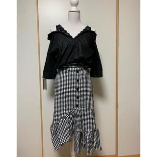 CECIL McBEE - セシルマクビー・シンメトリーロングスカート未着用タグ付き