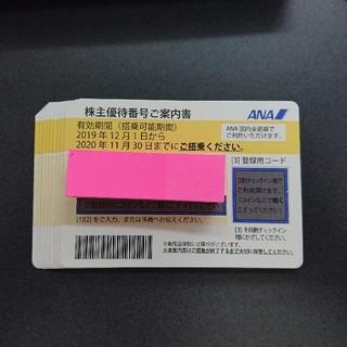 ANA(全日本空輸) - ANA株主優待券  10枚