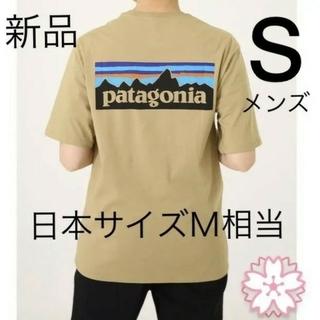 patagonia - ★ パタゴニア P6 Tシャツ タン Sサイズ 国内正規品