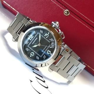 Cartier - 【美品☆】カルティエ パシャ スモール デイト オートマチック /腕時計