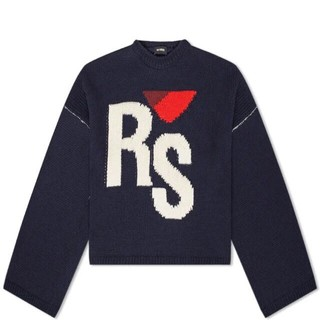RAF SIMONS - RAF SIMONS Cropped RS Sweater  ニット