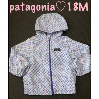 patagonia - 美品 patagonia パタゴニア♡ウインドブレーカー 18M