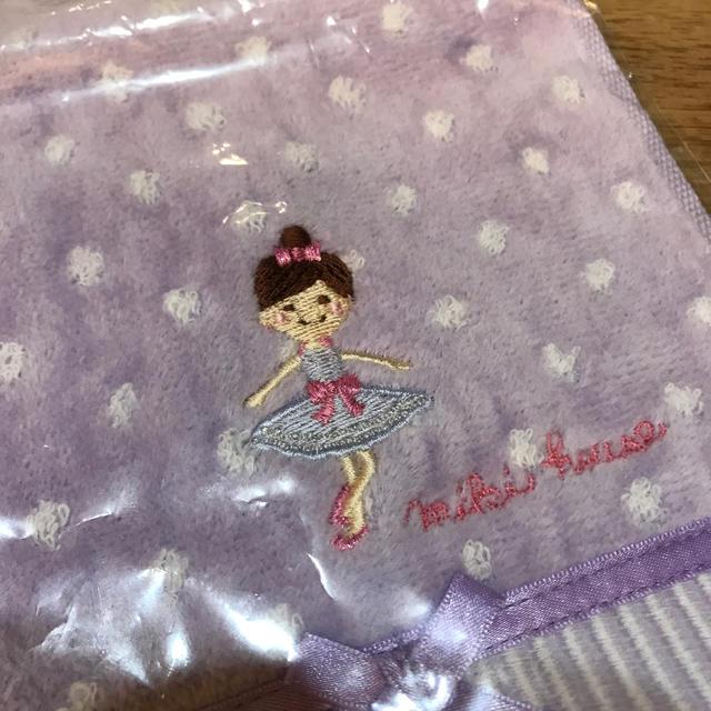 mikihouse(ミキハウス)の2枚組 ミキハウス❤︎タオル ハンカチ❤︎リーナちゃん キッズ/ベビー/マタニティのこども用ファッション小物(その他)の商品写真