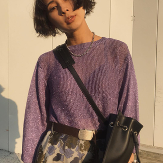Ameri VINTAGE - 新品未使用 アメリヴィンテージ  SPARKLE LAME KNIT