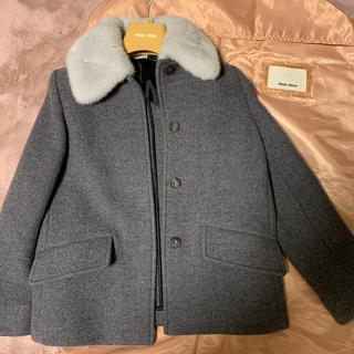 ミュウミュウ(miumiu)のmiu miu ミンクジャケット 未使用同様(毛皮/ファーコート)