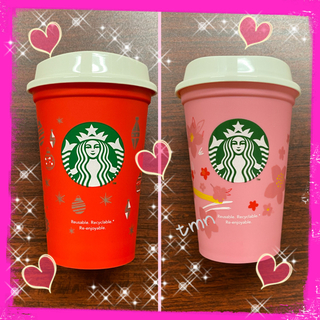 Starbucks Coffee - SALE❗️スターバックス☆リユーザブルカップ☆サクラ&ホリデー☆2個セット