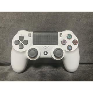 PlayStation4 - ps4コントローラー ホワイト シロ ジャンク