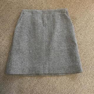 IENA SLOBE - スローブイエナ メルトン台形スカート