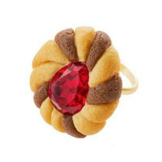 Q-pot. - ジュエルクッキーリング キューポット Q-pot. 指輪
