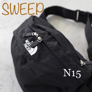 THE NORTH FACE - ノースフェイス スウィープ ブラック SWEEP  NM71904